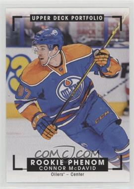 2015-16 Upper Deck Portfolio - [Base] #330 - Rookie Color Art - Connor McDavid