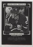 Rookie Black & White Art - William Nylander