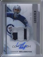 Acetate Rookie Auto-Patch - Connor Hellebuyck #/375