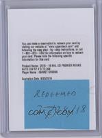 Premier Rookie Autograph - Garret Sparks /399 [BeingRedeemed]