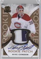Rookie Patch Autograph - Mike Condon /24