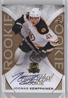 Rookie Autograph - Joonas Kemppainen #/24