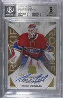 Rookie Autograph - Mike Condon [BGS 9 MINT] #/36