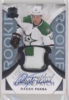 Rookie Patch Autograph - Radek Faksa #/249
