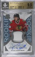 Rookie Patch Autograph - Ryan Hartman /249 [BGS 9.5]