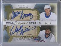 Mike Bossy, Clark Gillies #/15