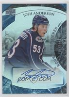 Rookie Premiere Uncommon Autograph - Josh Anderson #/199