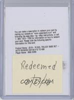 Rookie Premiere Uncommon Autograph - Max Domi [Being Redeemed] #/499
