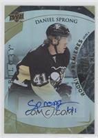 Rookie Premiere Uncommon Autograph - Daniel Sprong /499