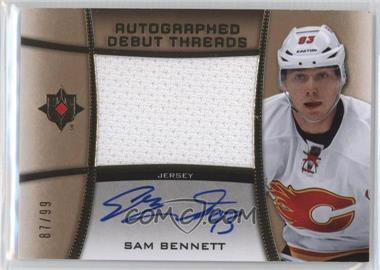 2015-16 Upper Deck Ultimate Collection - Autographed Debut Threads #ADT-SB - Sam Bennett /99