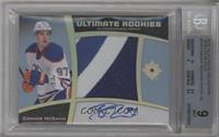 Ultimate Rookies Auto Patch - Connor McDavid /10 [BGS 9]
