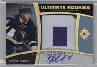 Ultimate Rookies Auto Patch - Robby Fabbri #10/10