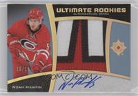 Ultimate Rookies Auto Patch - Noah Hanifin #/10