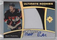 Ultimate Rookies Auto Patch - Matt Puempel /10