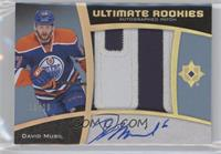Ultimate Rookies Auto Patch - David Musil #/10