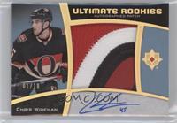 Ultimate Rookies Auto Patch - Chris Wideman /10