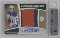 Ultimate Rookies Auto Jersey - Tier 2 - Connor McDavid [BGS 9 MINT] #…
