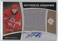 Ultimate Rookies Auto Jersey - Tier 2 - Noah Hanifin /49