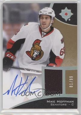 2015-16 Upper Deck Ultimate Collection - [Base] - Spectrum Silver Autographed Jersey [Autographed] [Memorabilia] #44 - Tier 1 - Mike Hoffman /99