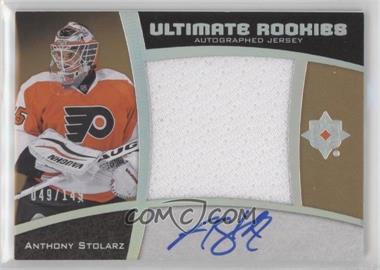2015-16 Upper Deck Ultimate Collection - [Base] - Spectrum Silver Autographed Jersey [Autographed] [Memorabilia] #63 - Ultimate Rookies Auto Jersey - Tier 1 - Anthony Stolarz /149