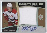 Ultimate Rookies Auto Jersey - Tier 1 - Brock McGinn /149