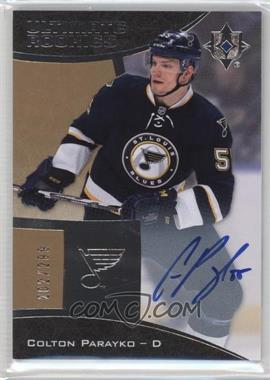 2015-16 Upper Deck Ultimate Collection - [Base] #83 - Autographed Ultimate Rookies - Tier 1 - Colton Parayko /299