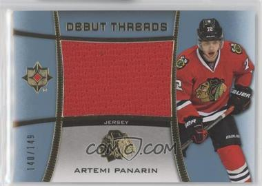 2015-16 Upper Deck Ultimate Collection - Debut Threads #DT-AP - Artemi Panarin /149