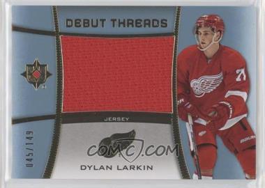 2015-16 Upper Deck Ultimate Collection - Debut Threads #DT-DL - Dylan Larkin /149