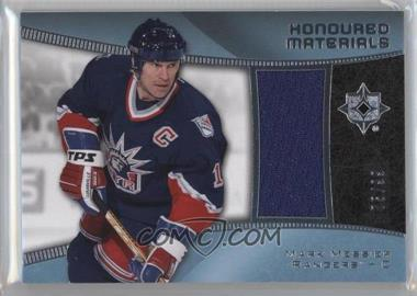 2015-16 Upper Deck Ultimate Collection - Honoured Materials #HM-MM - Mark Messier /99