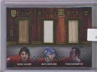 Serge Savard, Mats Naslund, Yvan Cournoyer /9 [Uncirculated]
