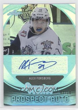 2015 Leaf Signature Series - Signature Prospect Autographs - Blue #SP-AF1 - Alex Forsberg /10