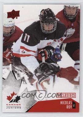 2015 Upper Deck Team Canada Juniors - [Base] - Exclusives #12 - Nicolas Roy /199