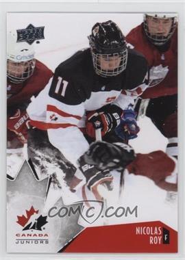 2015 Upper Deck Team Canada Juniors - [Base] #12 - Nicolas Roy