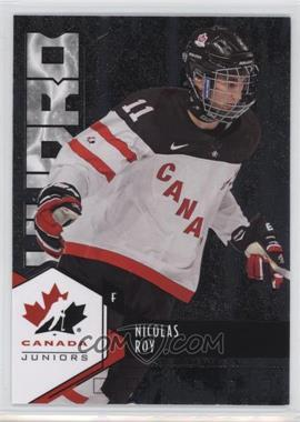 2015 Upper Deck Team Canada Juniors - Hydro #H-21 - Nicolas Roy