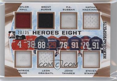 2016-17 Leaf In the Game Heroes & Prospects - Heroes Eight #H8-02 - Taylor Hall, Patrick Kane, Brent Burns, Leon Draisaitl, P.K. Subban, John Tavares, Nathan MacKinnon, Steven Stamkos /35