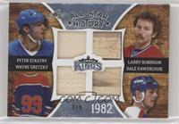 Peter Stastny, Larry Robinson, Wayne Gretzky, Dale Hawerchuk #2/5