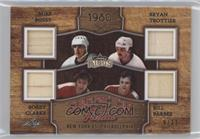 Mike Bossy, Bryan Trottier, Bobby Clarke, Bill Barber #/12