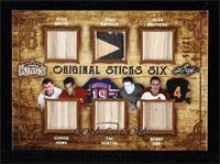 Stan Mikita, Gordie Howe, Jean Ratelle, Tim Horton, Jean Beliveau, Bobby Orr #/…