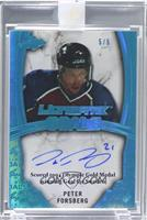Peter Forsberg /5 [ENCASED]
