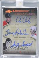 Chris Chelios, Larry Robinson, Serge Savard /5 [ENCASED]