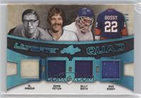 Al Arbour, Denis Potvin, Billy Smith, Mike Bossy #/9