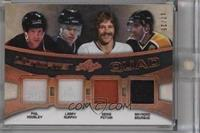 Phil Housley, Larry Murphy, Denis Potvin, Ray Bourque /25 [ENCASED]