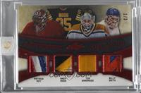 Patrick Roy, Andy Moog, Tom Barrasso, Billy Smith /3 [Uncirculated]