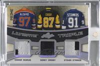 Connor McDavid, Sidney Crosby, Steven Stamkos [Uncirculated] #/2