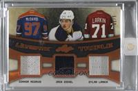 Connor McDavid, Jack Eichel, Dylan Larkin /30 [Uncirculated]