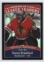 League Leaders - Corey Crawford - Shutouts #/100