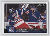 Team Checklist - New York Rangers Team