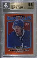 Auston Matthews [BGS 9.5 GEM MINT] #/49