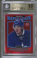 Auston Matthews [BGS 9.5 GEM MINT] #/15