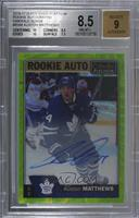 Auston Matthews /10 [BGS 8.5 NM‑MT+]